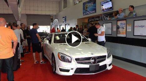 DealerCenter mobile app at car auction