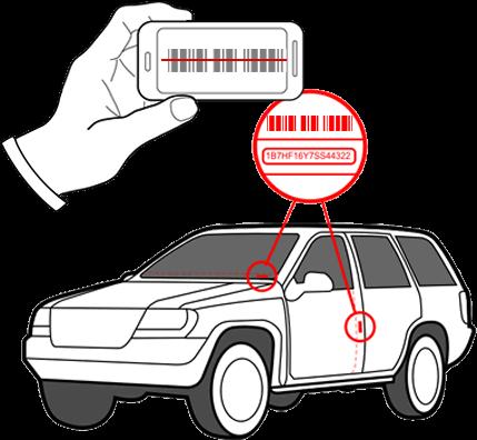 Vin and driver license scanner