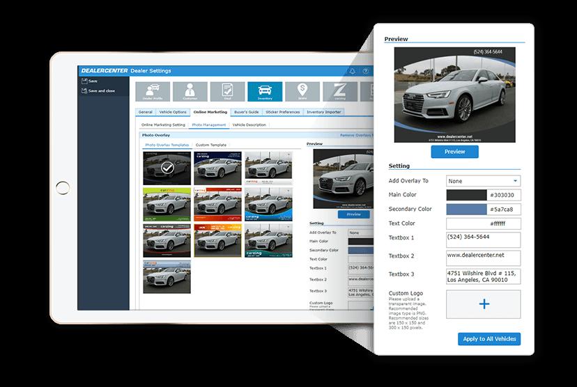 InventoryMerchandise Photo Overlay